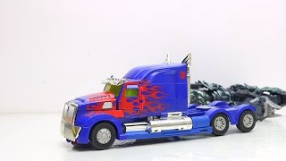 Transformers: Cybertron Siege - Bumblebee, Ultra Magnus Movie Animation Robot Truck Lego & Car Kids