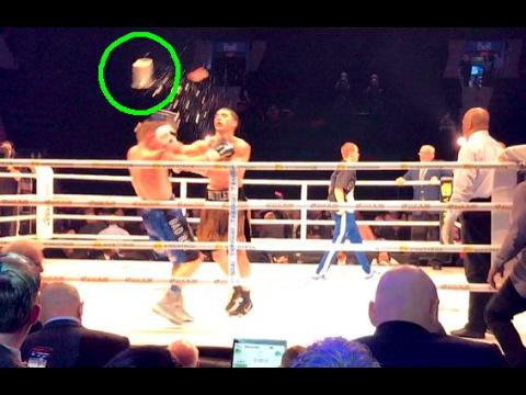 Escándalo mundial en un combate de boxeo: hay dos detenidos