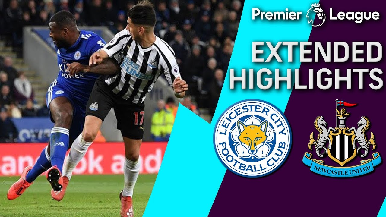 Leicester City V Newcastle Premier League Extended