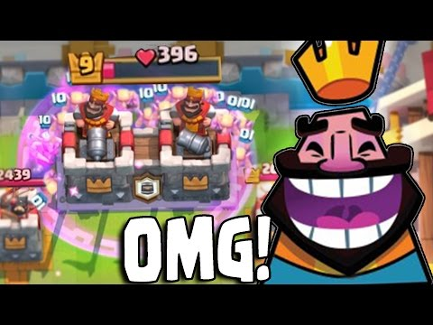 INSTANT WIN! ABSURD 2v2 CLAN BATTLE DECK!! Clash Royale Double Mirror, Goblin Barrel, Clone = GG