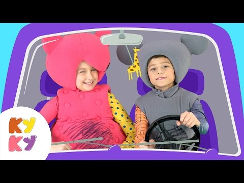🚗МАШИНКА 2 - КУКУТИКИ- Продолжение самой популярной развивающей детской песни про машины и животных