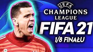 FIFA 21 LIGA MISTRZÓW 2020/2021 1/8 FINAŁU skróty bramki juventus porto borussia dortmund sevilla