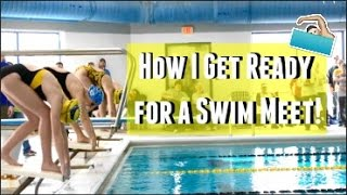 How I Get Ready for a Swim Meet!  | Gracie and Katie