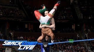 Xavier Woods vs. Aiden English - U.S. Title Tournament First Round: SmackDown LIVE, Jan. 2, 2018 thumbnail