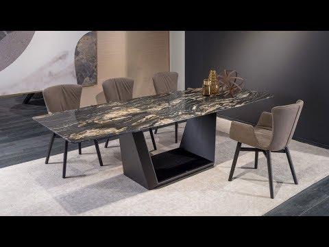 Draenert. Немецкая мебель, столы, стулья, аксессуары. ISaloni 2019