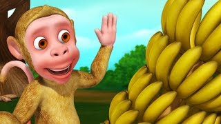 Bandar Mama and Bananas   Bengali Rhymes for Children   Infobells