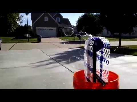 3D Printed Bubble Bucket Blows 14,000 Bubbles Per Minute