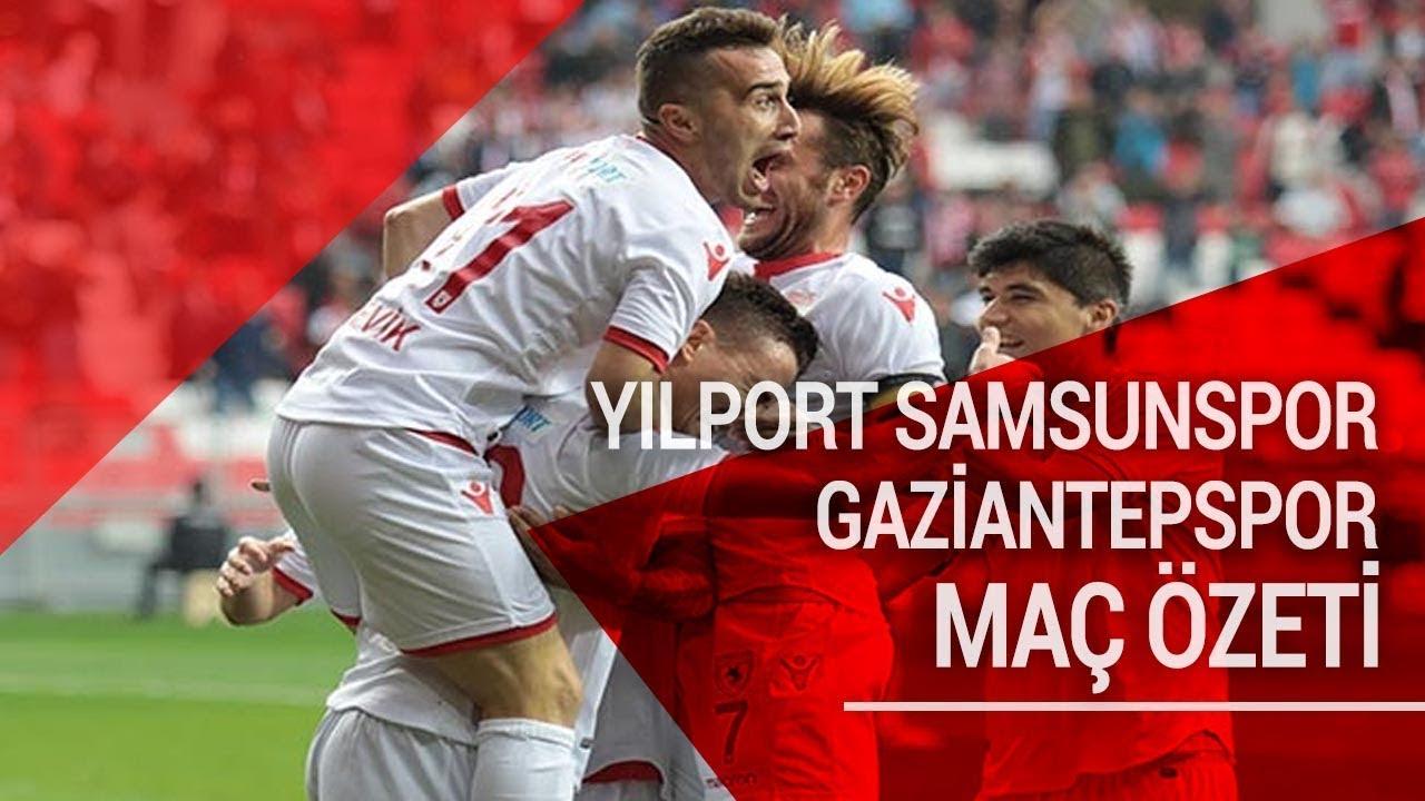 7. Hafta   Yılport Samsunspor 2- 0 Gaziantepspor   Maçın Özeti