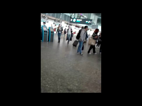 [170509] B.A.P in Budapest [TRAVEL TO RUSSIA] Liszt Ferenc International Airport
