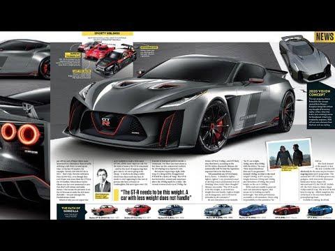 Nissan GT-R R36 Skyline Concept - YouTube