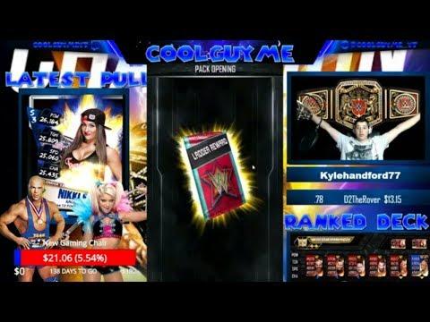 WWE Supercard #200 (Season 3) SUMMERSLAM 17 FREEBIE AND SS17 LADDER REWARD !!!!!!!