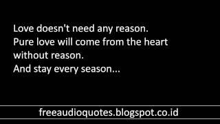 Free Audio Quotes AQ Pure Love