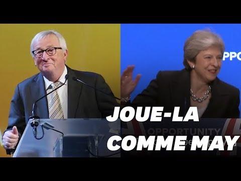 Jean-Claude Juncker s'est-il moqué de la danse de Theresa May?