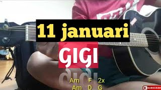 11 januari GIGI (Acoustic chover)..amatirr