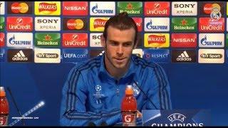 Rueda de prensa | Gareth Bale| Manchester City | Semifinal (ida)