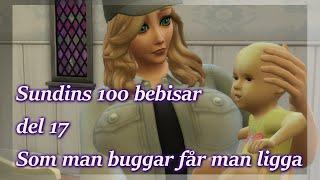 Sims 4: 100 Bebisar-utmaningen | Del 17 - Som Man Buggar Får Man Ligga