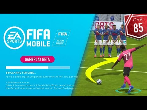 FREE KICKS, SQUAD UPDATE & SKILL MOVE PREFERENCE   Fifa Mobile 19 S3 Beta Gameplay