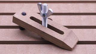 Video Making Wooden Clamps for CNC download MP3, 3GP, MP4, WEBM, AVI, FLV Juli 2018