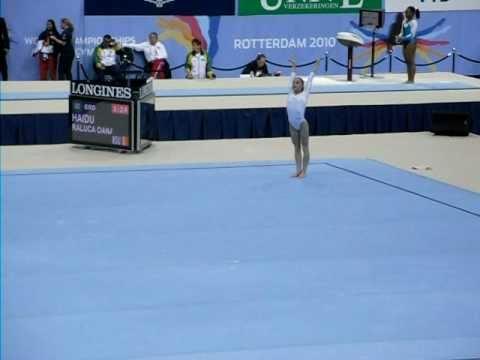 Raluca Haidu -2010 World Gymnastics Championships - Floor