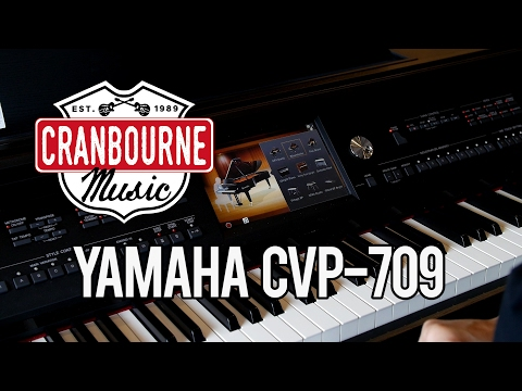 Yamaha CVP709 Clavinova with Kate - Cranbourne Music