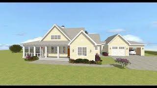 Architectural Designs Exclusive Farmhouse Plan 28925jj Virtual Tour