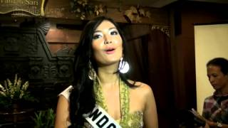 Maria Selena Optimis Ikut Miss Universe 2012