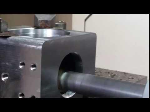 CNC Machining (Helical Threading) For Mining Australia - By EPM Perth