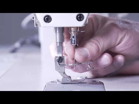 How To Change The Needle On An Industrial Sewing Machine - Reliable 3300SD Single Needle