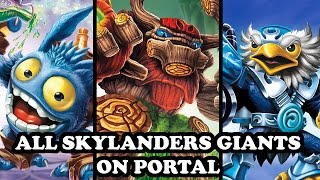 Skylanders Imaginators - All Skylanders Giants on Portal