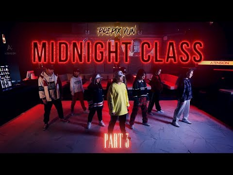 Yun's Midnight Class 2018 Part 3 | Prepix Dance Studio