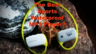 The Best Sports Waterproof MP3 Player? - The New Sony Sports Walkman Review (NWZ-WS613)
