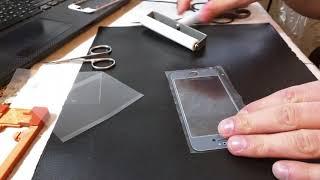 IPhone 5/5S замена стекла на Oca пленку, вакуумный ламинатор Черновцы