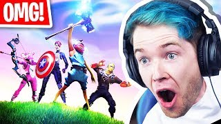 NEW Fortnite AVENGERS END GAME Game Mode!