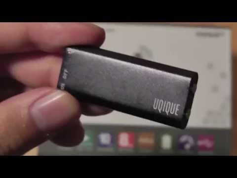 REVIEW: UQIQUE Digital Voice Recorder Mp3 Player (8GB)