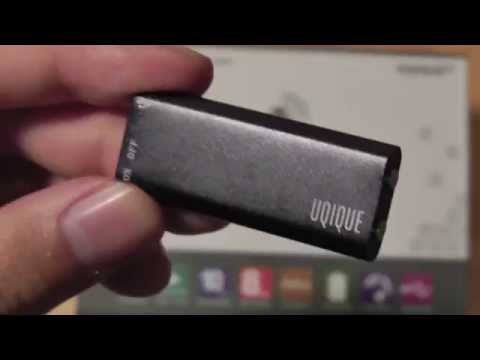 REVIEW: UQIQUE Digital Voice Recorder Mp3 Player (8GB)