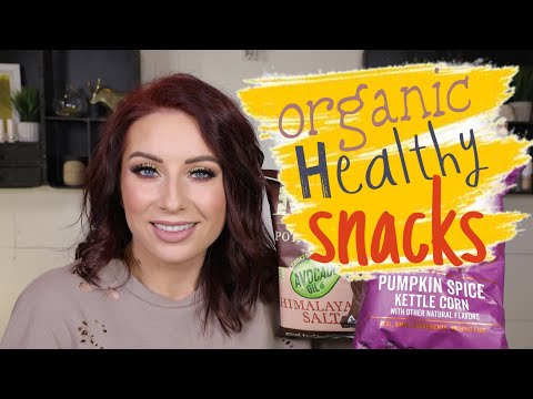 HEALTHY SNACKS + BEAUTY HAUL (ORGANIC + NON-GMO)
