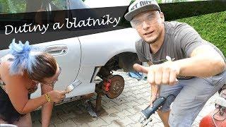 Nové Blatníky, Ochrana Dutin - Mazda MX-5 Vlog_03 :) BEZ KOMPRESE (:
