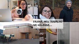 FAXINA, MEU TRABALHO NA HOLANDA, COMPRINHAS NA IKEA | Joyce Aurora