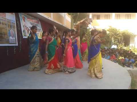 Thanvi And Group Dance Of Kannadidhurinchara Remix In T.s.model School