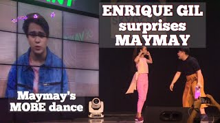 Enrique Gil surprises Maymay Entrata; Maymay performs Quen's MOBE dance at her album launch