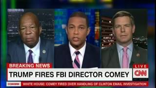 Rep. Swalwell and Rep. Cummings on CNN discussing Trump's firing of FBI Director Comey