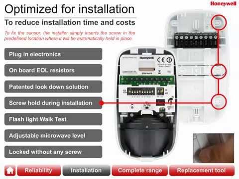 Honeywell Wired Motion Sensors