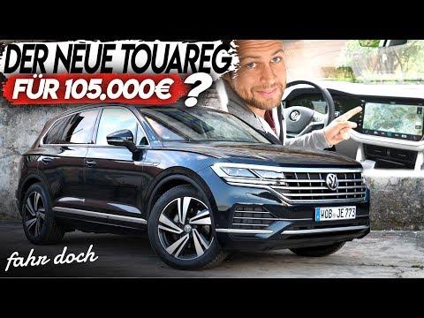VW Touareg 3.0 L V6 TDI 4Motion 2019 | Review Und Fahrbericht | Fahr Doch