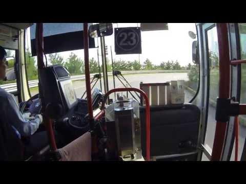 Bus ride in Korea: Samcheok in Gangwon Province