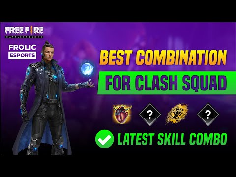 Best Character Skill Combination for Clash Squad   Best character skill combination in freefire