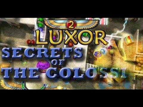 Luxor 2 Walkthrough (Part 4) - Secret of the Colossi