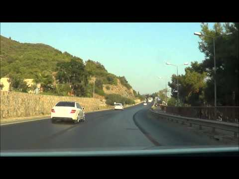 ALANYA Sehir Turu // 2013 // Antalya - Alanya arasi Yolculuk......... HD
