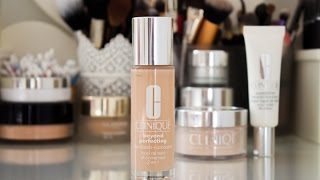 clinique beyond perfecting foundation review and demo    my hg foundation