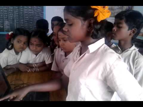 Self learning by valapady colony students