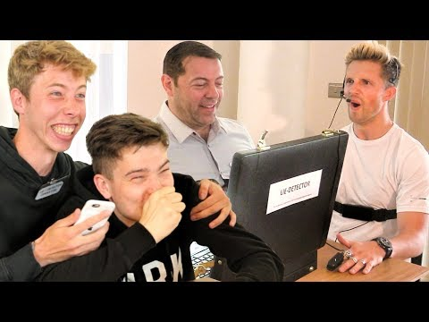REAL LIE DETECTOR WITH MARCUS BUTLER & WILL NE (PERSONAL)